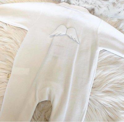 Engelpakje wit met vleugels