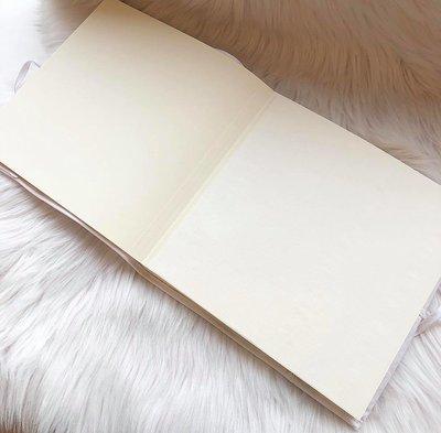 Fotoboek/gastenboek  met naam of tekst