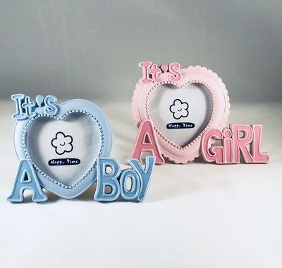 """Fotokader """"It's a boy"""" & """"It's a girl"""""""