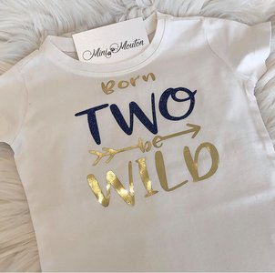 T-shirt Born two be wild